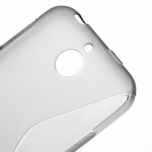 S-line gélový obal pre mobil HTC Desire 510 - šedý - 3