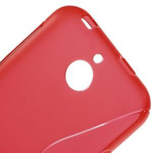 S-line gélový obal pre mobil HTC Desire 510 - červený - 3