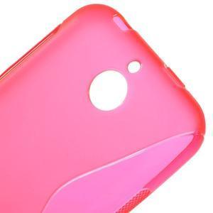 S-line gélový obal pre mobil HTC Desire 510 - rose - 3