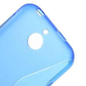 S-line gélový obal pre mobil HTC Desire 510 - modrý - 3