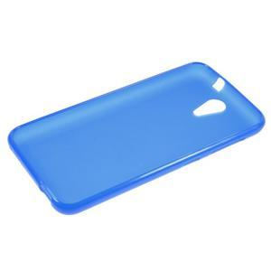 Matný gelový obal na mobil HTC Desire 620 - modrý - 3