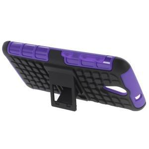 Outdoor odolný obal pre mobil HTC Desire 620 - fialový - 3