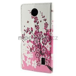 Peňaženkové puzdro Huawei Y635 - kvitnúca vetvička - 3