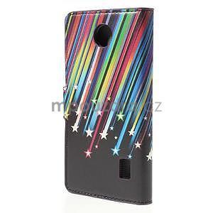 Zapínacie peňaženkové puzdro Huawei Y635 - meteor - 3
