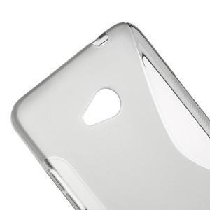 Gélový s-line obal na Microsoft Lumia 640 - šedý - 3
