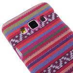 Obal potažený látkou na Samsung Galaxy A3 - rose - 3/5