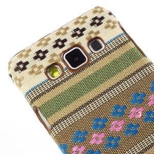 Obal potažený látkou pre Samsung Galaxy A3 - 3