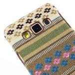 Obal potažený látkou pre Samsung Galaxy A3 - 3/5