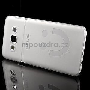 Plastový obal na Samsung Galaxy A3 - biely - 3