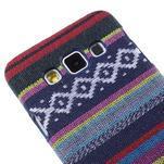 Obal potažený látkou pre Samsung Galaxy A3 - mix barev II - 3/5