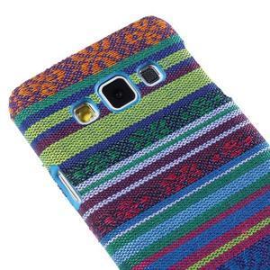 Obal potažený látkou pre Samsung Galaxy A3    - mix barev I - 3