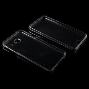 Gélový obal 2v1 pro zadní kryt a displej pre Samsung Galaxy A5 (2016) - šedý - 3