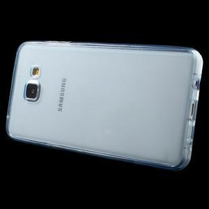 Gelový obal 2v1 pro zadní kryt a displej na Samsung Galaxy A5 (2016) - modrý - 3