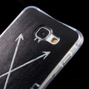 Tvarovaný gelový obal na Samsung Galaxy A5 (2016) - světové strany - 3