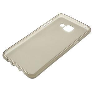 Matný gelový kryt na mobil Samsung Galaxy A5 (2016) - šedý - 3