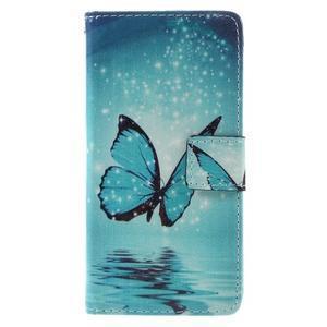 Stylové pouzdro na mobil Samsung Galaxy A5 (2016) - kouzelný motýl - 3