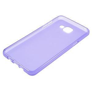 Matný gélový kryt pre mobil Samsung Galaxy A5 (2016) - fialový - 3