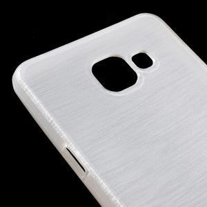 Brush gelový obal na Samsung Galaxy A5 (2016) - bílý - 3