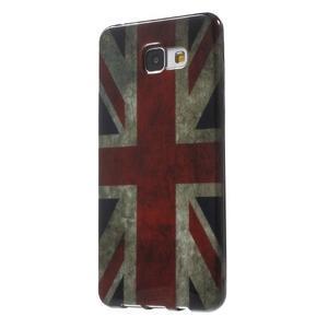 Obal s motivem na mobil Samsung Galaxy A5 (2016) - UK vlajka - 3