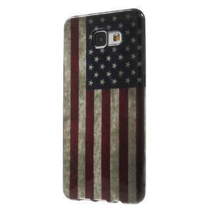 Obal s motívom pre mobil Samsung Galaxy A5 (2016) - US vlajka - 3