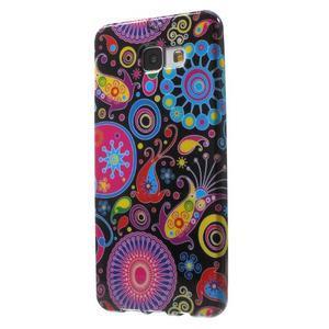 Obal s motívom pre mobil Samsung Galaxy A5 (2016) - farebné kruhy - 3