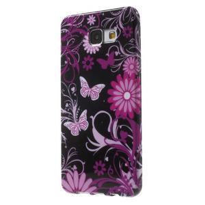 Obal s motívom pre mobil Samsung Galaxy A5 (2016) - čarovné motýle - 3