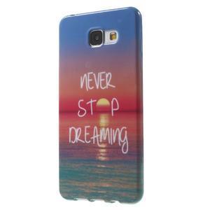 Obal s motívom pre mobil Samsung Galaxy A5 (2016) - dreaming - 3