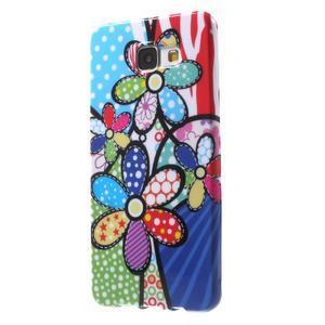 Obal s motívom pre mobil Samsung Galaxy A5 (2016) - malované kvety - 3