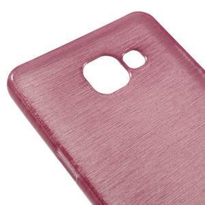 Brush gélový obal pre Samsung Galaxy A5 (2016) - ružový - 3