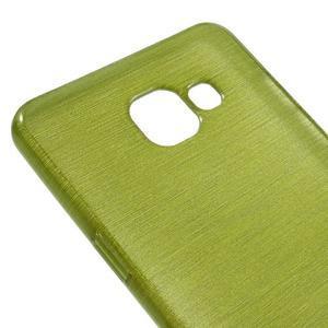 Brush gelový obal na Samsung Galaxy A5 (2016) - zelený - 3