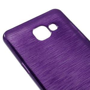 Brush gélový obal pre Samsung Galaxy A5 (2016) - fialový - 3