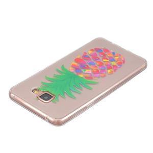 Transparentní gelový obal na Samsung Galaxy A5 (2016) - ananas - 3