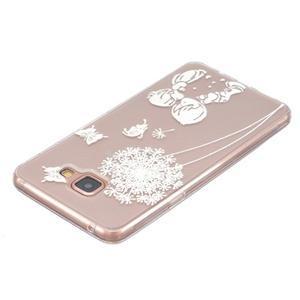 Transparentní gelový obal na Samsung Galaxy A5 (2016) - dětská láska - 3