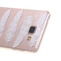Silk Gelový obal na mobil Samsung Galaxy A5 (2016) - peříčka - 3/5