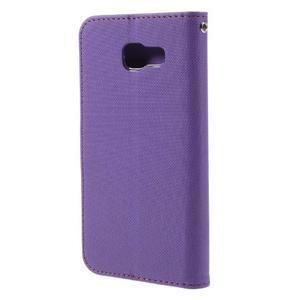 Roarlux peňaženkové puzdro pre Samsung Galaxy A5 (2016) - fialové - 3