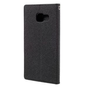 Fancy puzdro pre mobil Samsung Galaxy A5 (2016) - čierne - 3