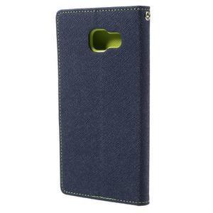 Fancy puzdro pre mobil Samsung Galaxy A5 (2016) - tmavomodré - 3