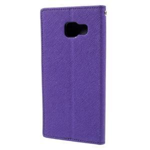 Fancy puzdro pre mobil Samsung Galaxy A5 (2016) - fialové - 3