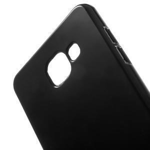 Jelly lesklý pružný obal na Samsung Galaxy A5 (2016) - černý - 3