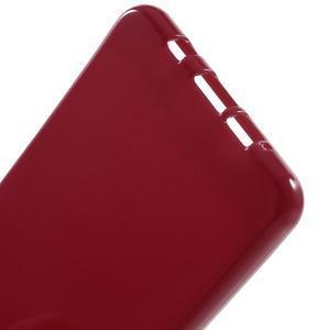 Jelly lesklý pružný obal na Samsung Galaxy A5 (2016) - červený - 3
