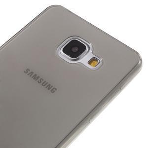 Ultratenký slim gelový obal na Samsung Galaxy A5 (2016) - šedý - 3