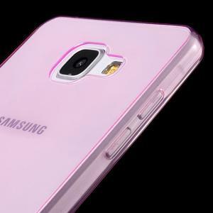 Ultratenký slim gelový obal na Samsung Galaxy A5 (2016) - rose - 3