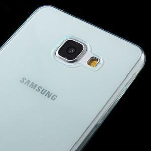 Ultratenký slim gelový obal na Samsung Galaxy A5 (2016) - světlemodrý - 3
