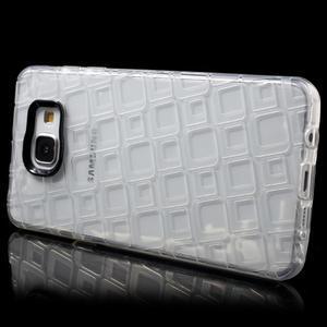 Square gélový obal pre mobil Samsung Galaxy A5 (2016) - transparentný - 3