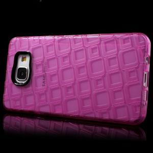 Square gelový obal na mobil Samsung Galaxy A5 (2016) - rose - 3