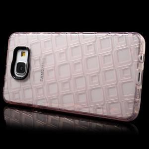 Square gelový obal na mobil Samsung Galaxy A5 (2016) - růžový - 3