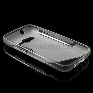 Gélové s-line puzdro pre Samsung Galaxy Ace 4 - transparentný - 3