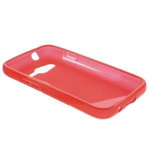Gélové s-line puzdro na Samsung Galaxy Ace 4 - červené - 3