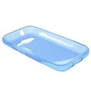 Gélové s-line puzdro pre Samsung Galaxy Ace 4 - modré - 3