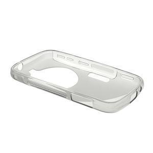 Šedý s-line gélový kryt na Samsung Galaxy K Zoom C115 - 3